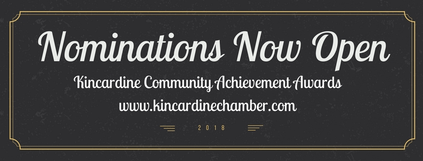 2018 Kincardine Community Achievement Awards Nomination
