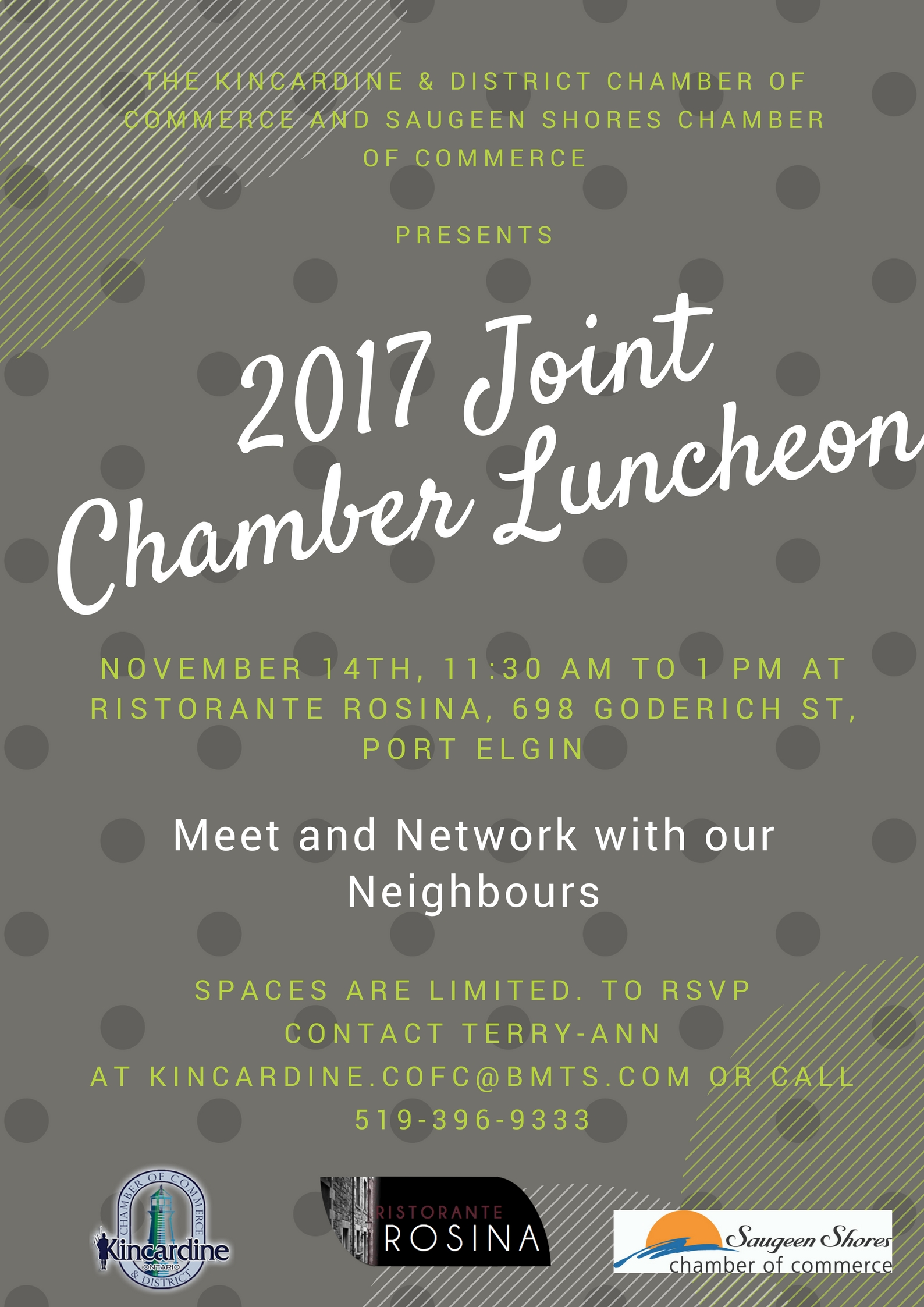 Kincardine and Saugeen Shores Joint Chamber Luncheon
