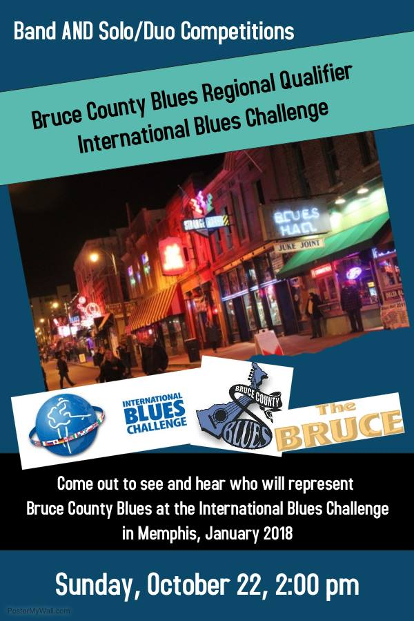Bruce County Blues Regional Qualifyer - International Blues Challenge
